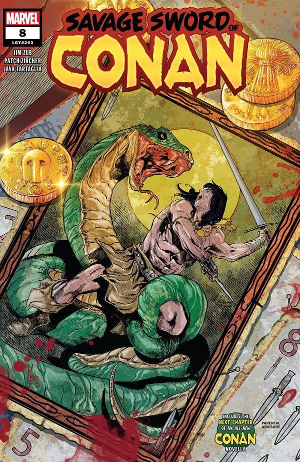 Savage Sword of Conan #8