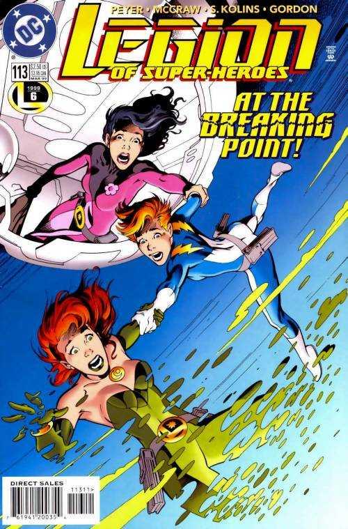 Legion of Super-Heroes #113