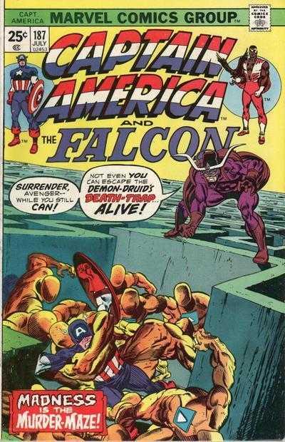Captain America #187
