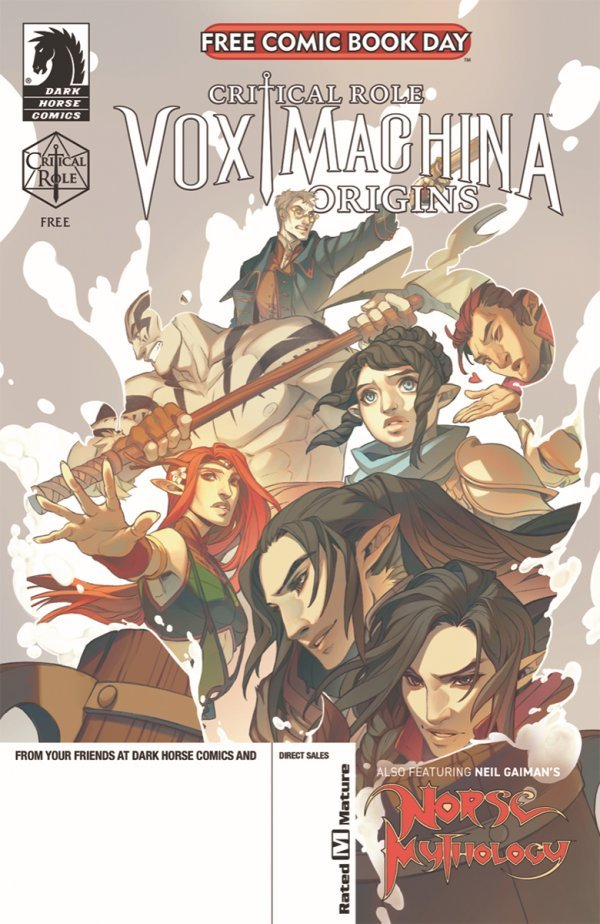 FCBD 2020: Critical Role – Vox Machina Origins + Norse Mythology