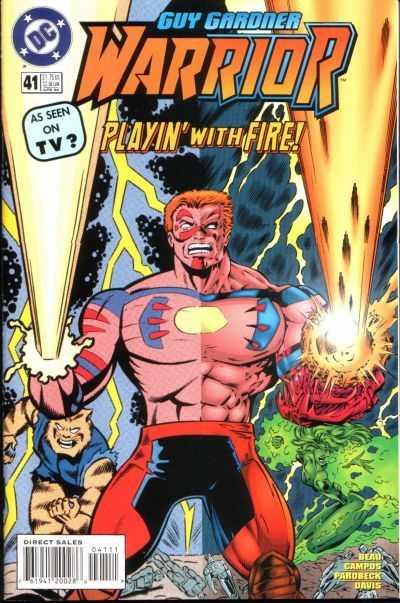 Guy Gardner: Warrior #41