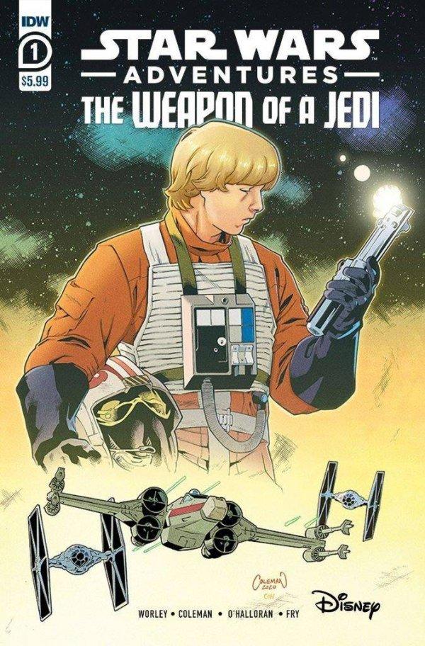 Star Wars Adventures: Weapon Of A Jedi #1