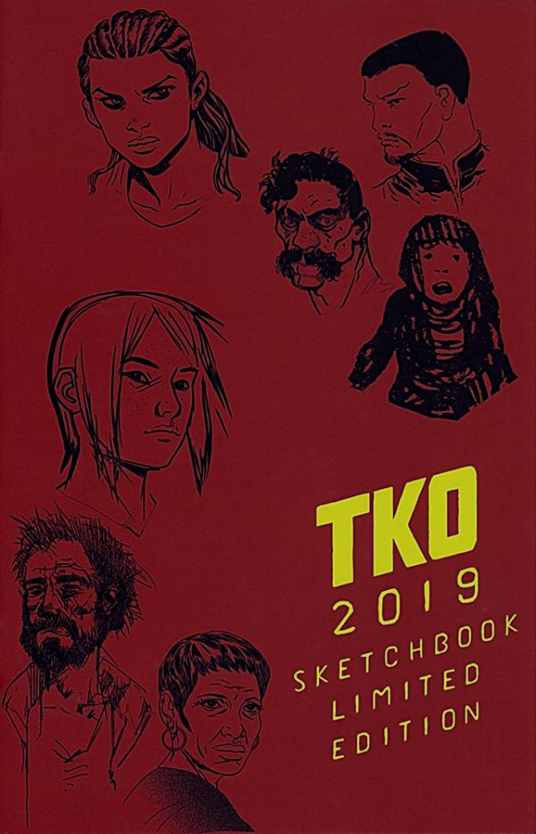 TKO Sketchbook (Limited Edition) #1