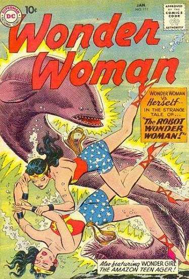 Wonder Woman #111