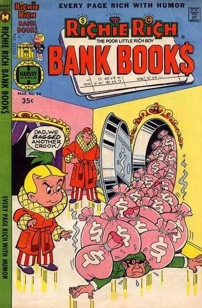 Richie Rich Bank Book #34