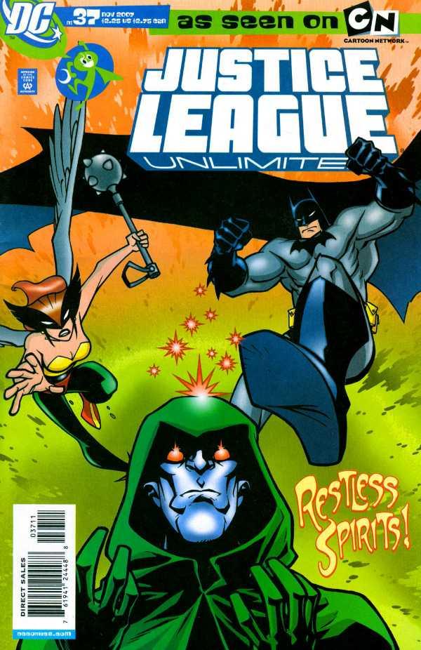 Justice League Unlimited #37
