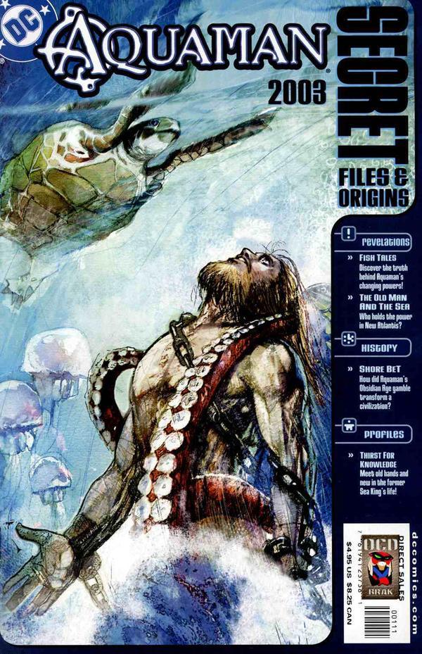 Aquaman: Secret Files & Origins 2003