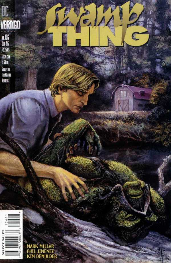 The Saga of the Swamp Thing #156