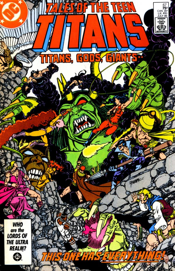 Tales of the Teen Titans #67