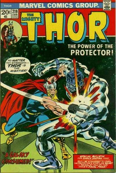 The Mighty Thor #219