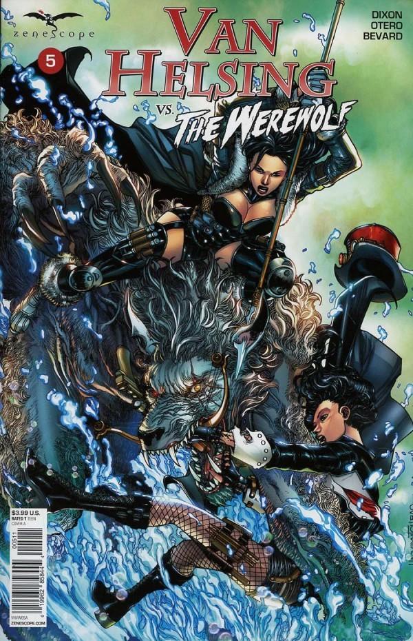 Van Helsing vs. The Werewolf #5