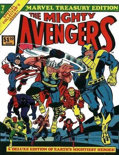 Marvel Treasury Edition #7