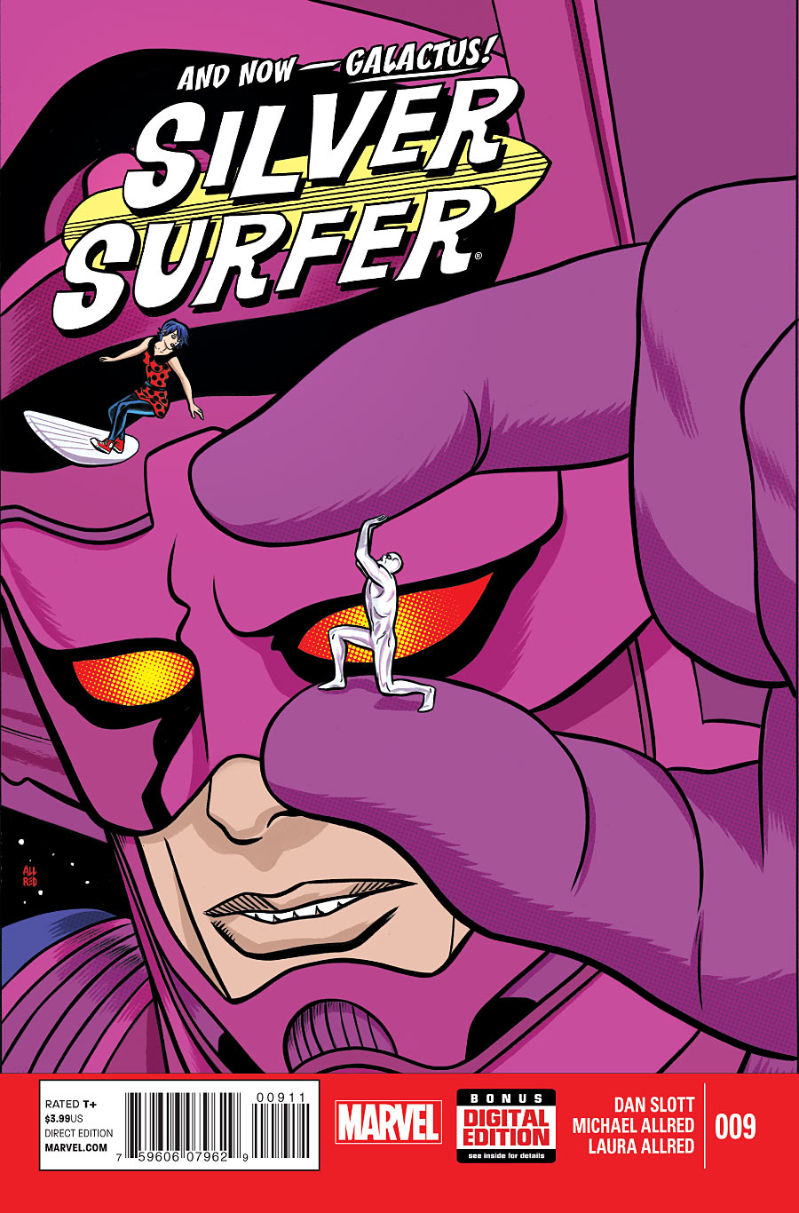 Silver Surfer #9