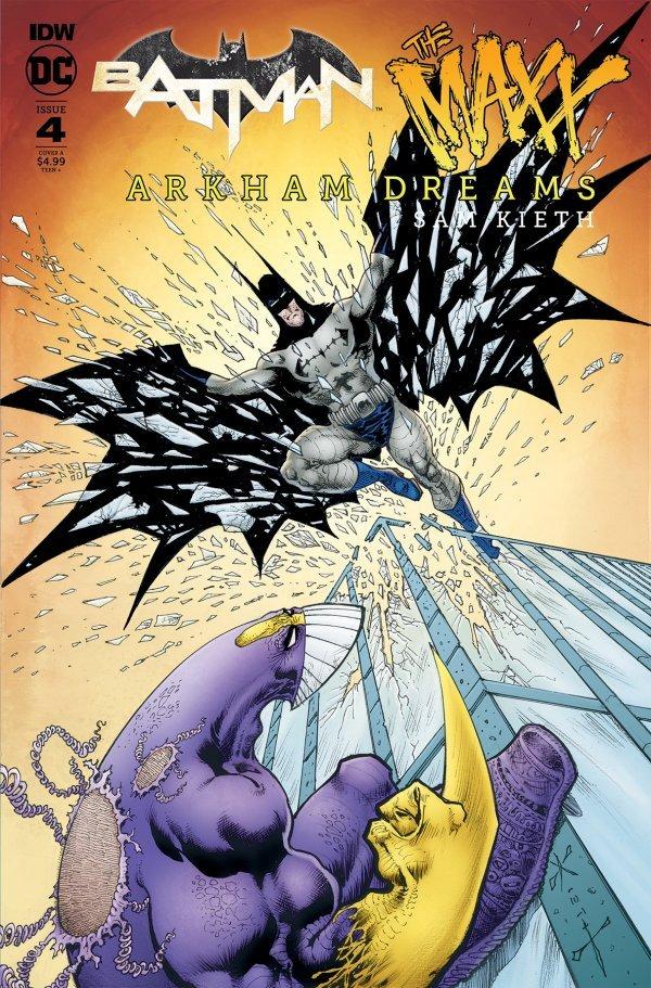 Batman / The Maxx: Arkham Dreams #4