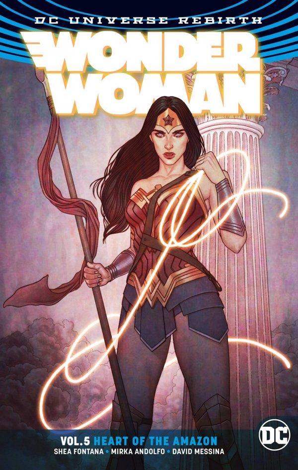 Wonder Woman Vol. 5: Heart of the Amazon TP