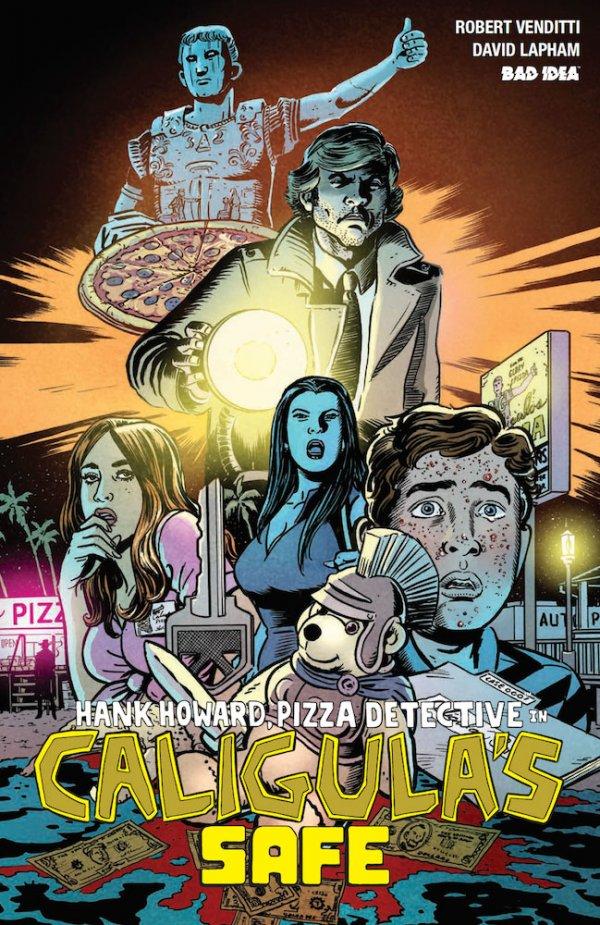 Hank Howard, Pizza Detective #1