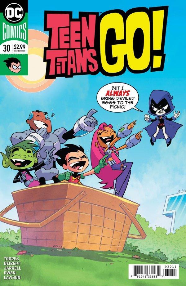 Teen Titans Go! #30