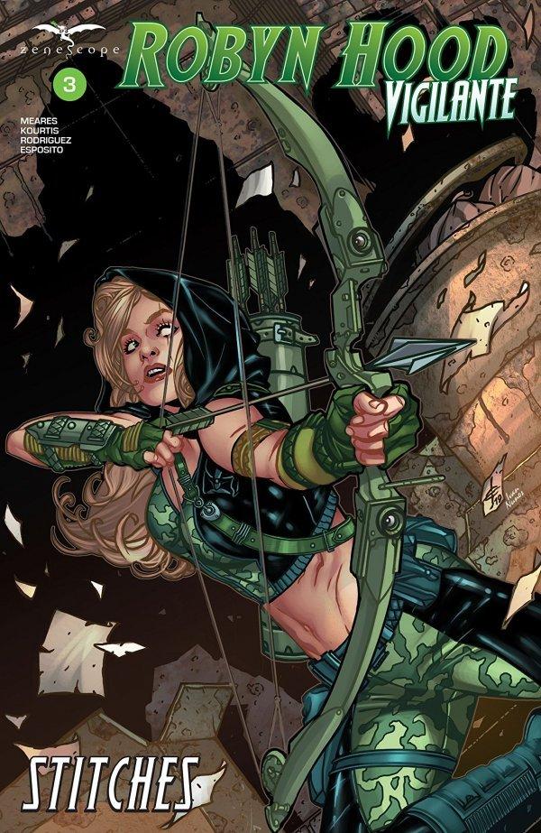 Robyn Hood: Vigilante #3