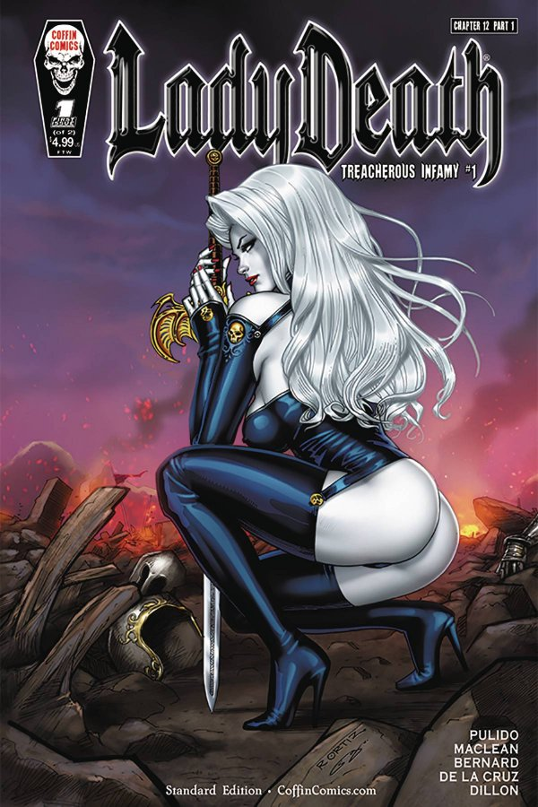Lady Death: Treacherous Infamy #1