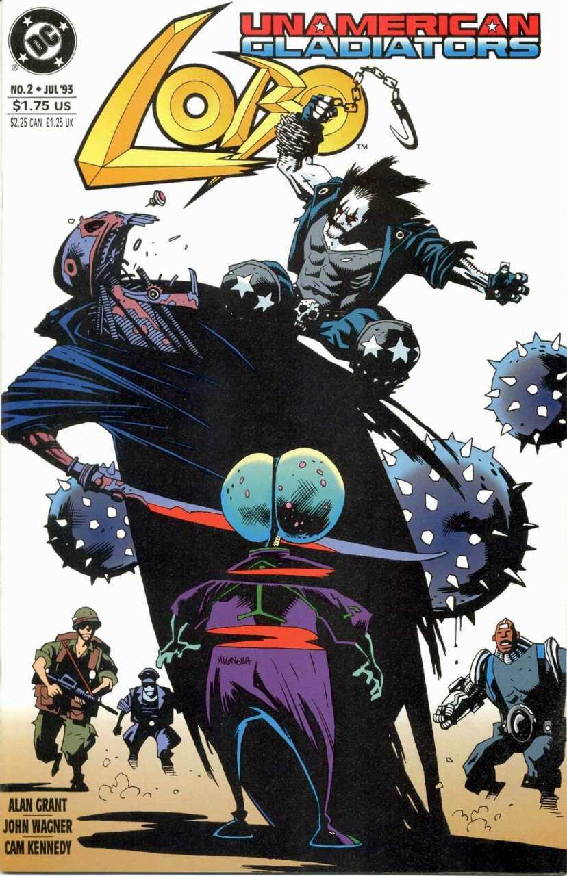 Lobo: Unamerican Gladiators #2