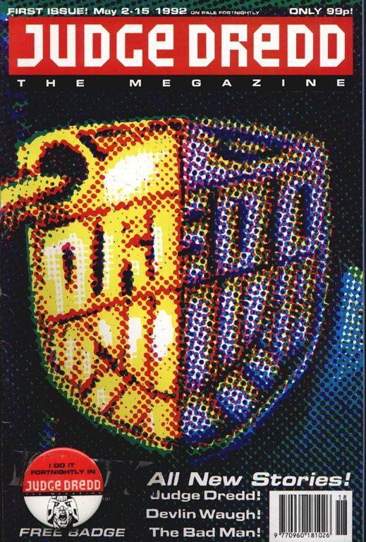 Judge Dredd: The Megazine #1