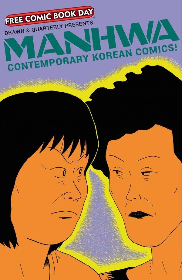 Free Comic Book Day 2020: Manhwa: Contemporary Korean Comics!