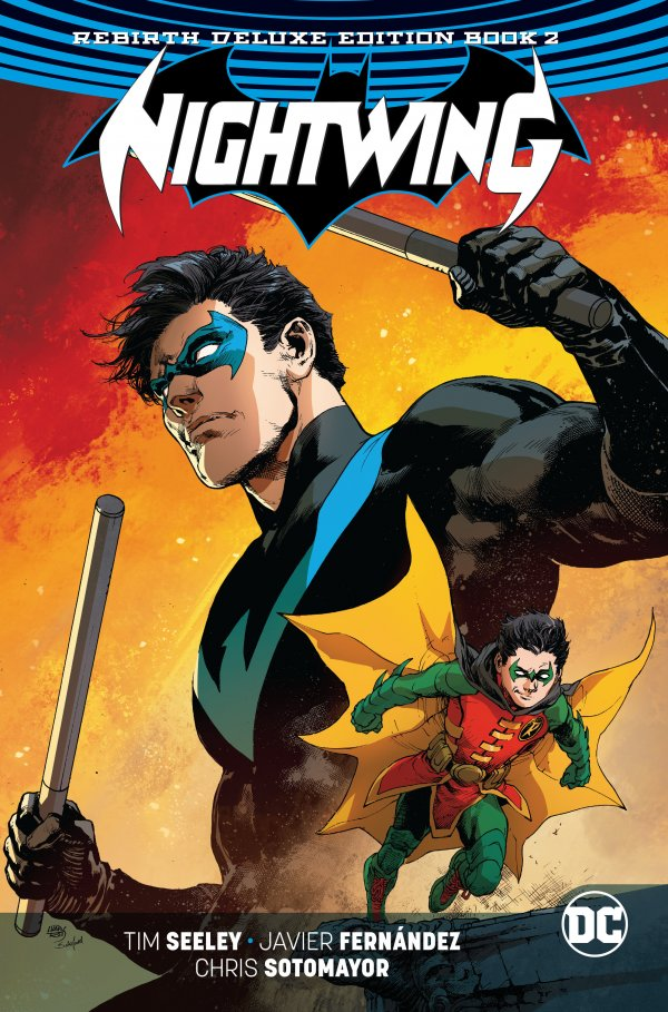 Nightwing: The Rebirth Deluxe Edition Book 2 HC