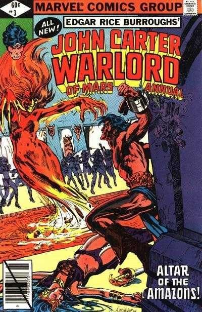 John Carter, Warlord of Mars Annual #3