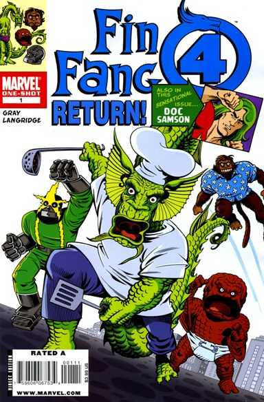 Fin Fang Four Return! #1