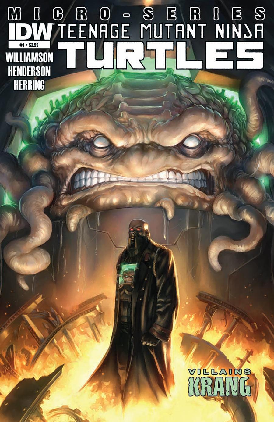 Teenage Mutant Ninja Turtles: Villains Micro-Series #1