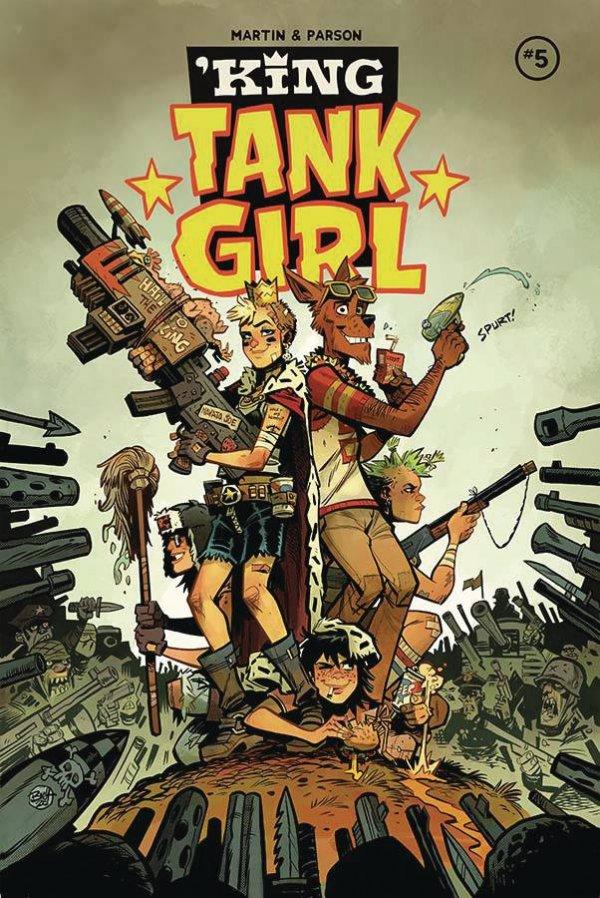 'King Tank Girl #5