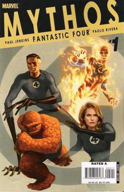 Mythos: Fantastic Four #1