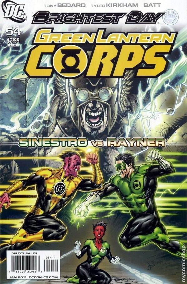 Green Lantern Corps #54