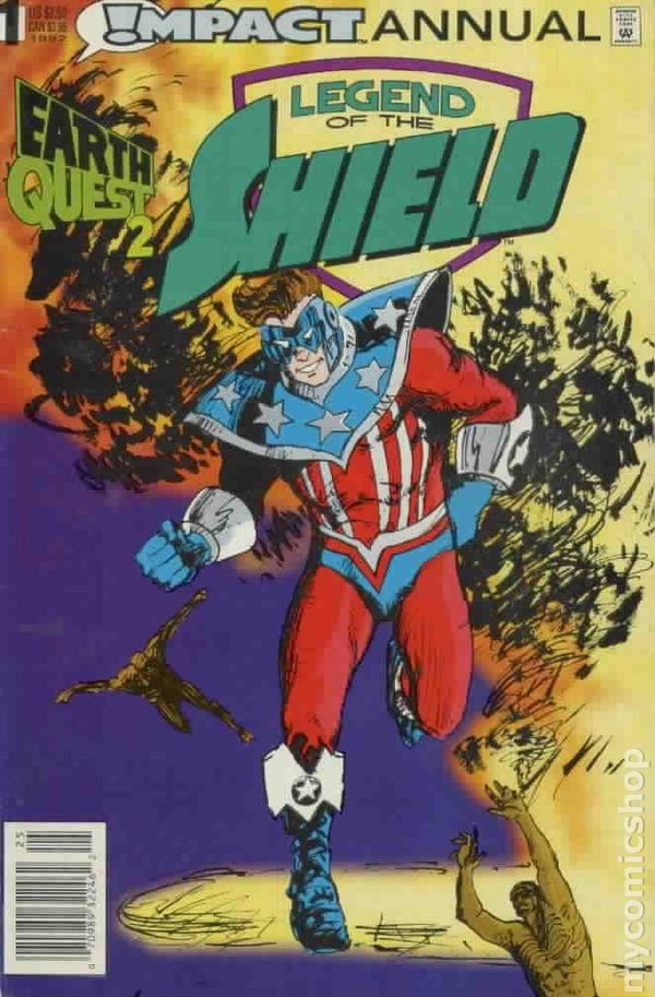 Legend of the Shield #Annual #1