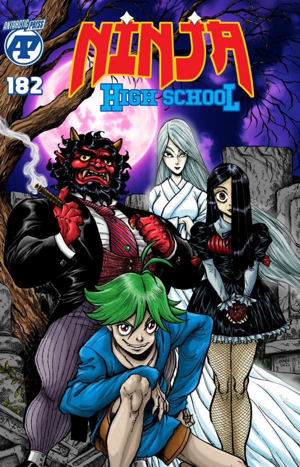 Ninja High School #182