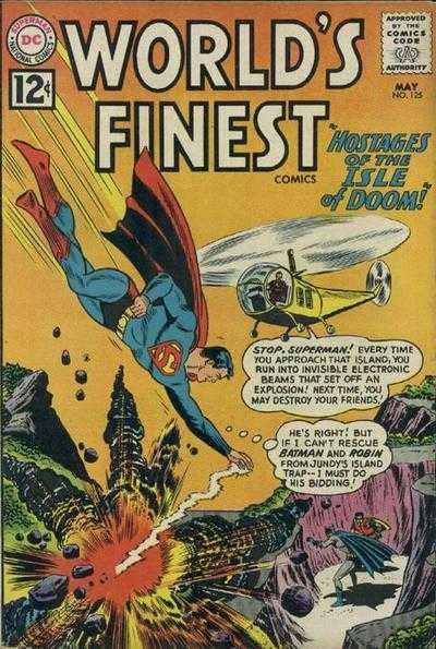 World's Finest Comics #125