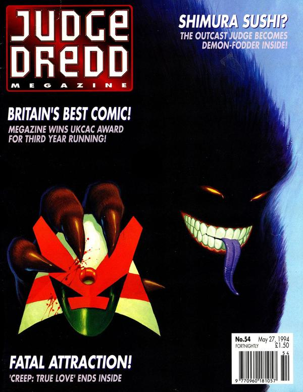 Judge Dredd: The Megazine #54