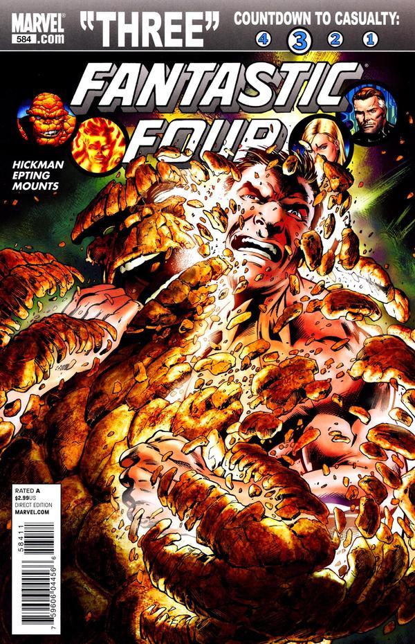 Fantastic Four #584