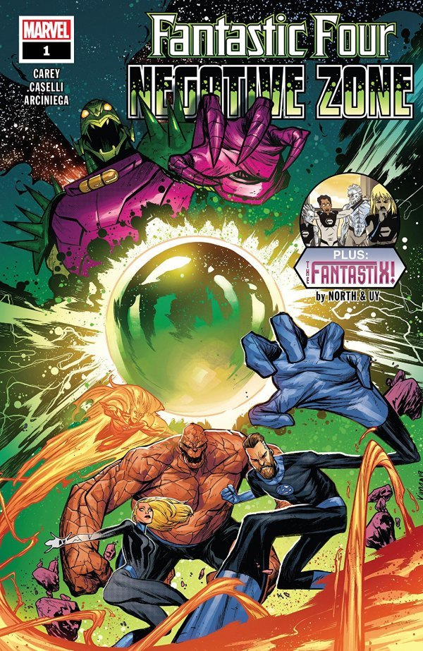 Fantastic Four: Negative Zone #1