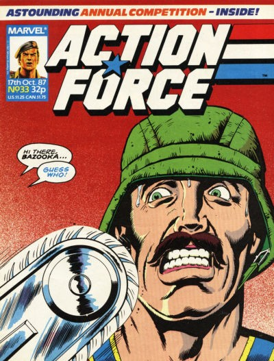 Action Force #33