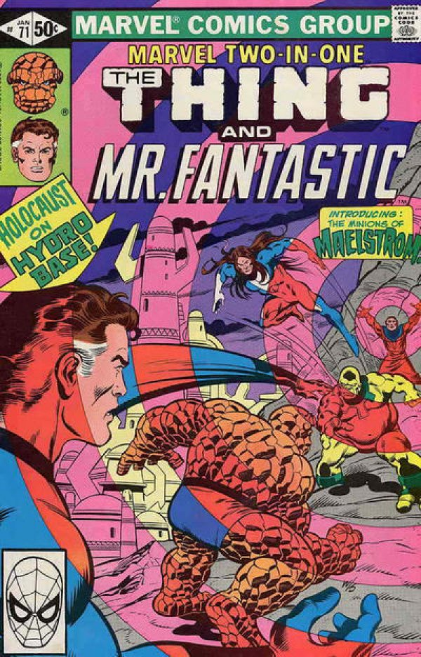 Marvel Two-in-One #71