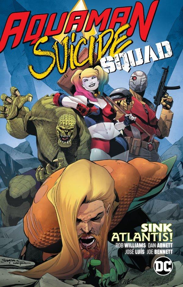 Aquaman / Suicide Squad: Sink Atlantis TP