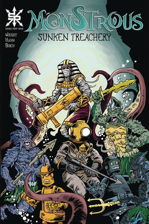 Monstrous: Sunken Treachery #1
