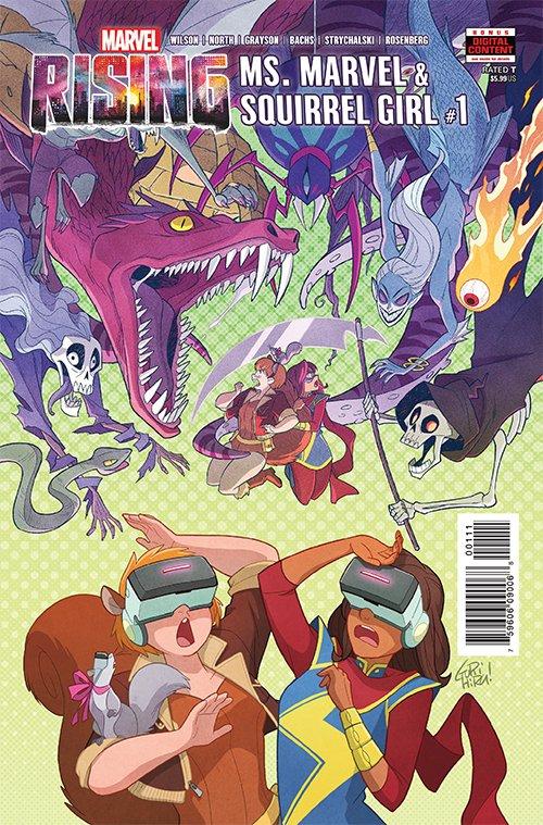 Marvel Rising: Ms. Marvel / Squirrel Girl #1