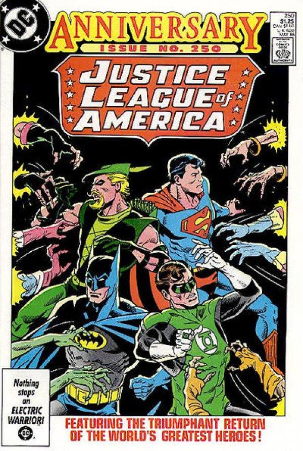 Justice League of America #250