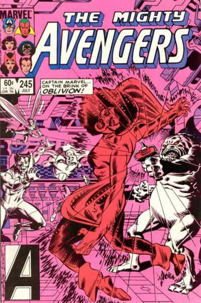The Avengers #245