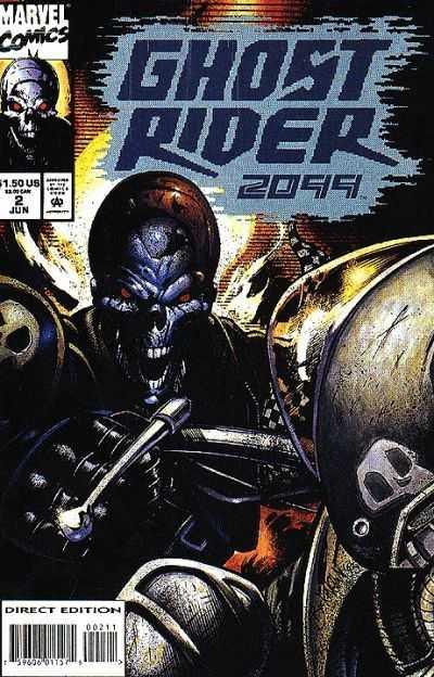 Ghost Rider 2099 #2