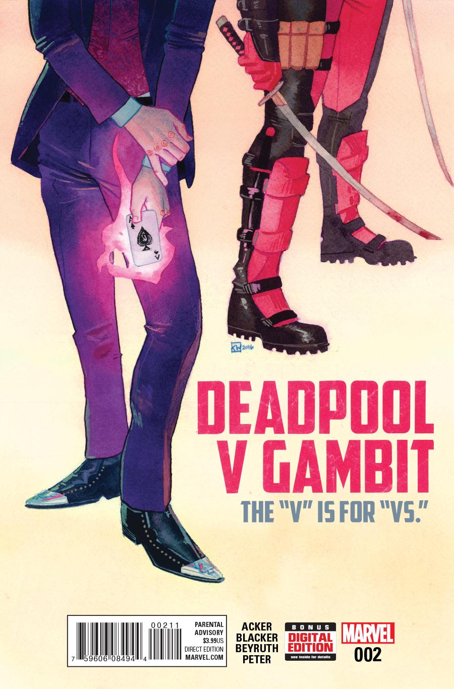 Deadpool v Gambit #3