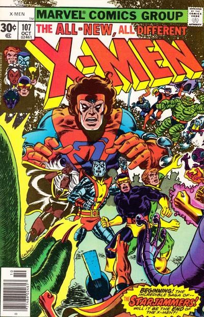 The X-Men #107