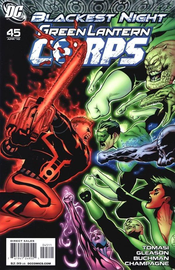 Green Lantern Corps #45